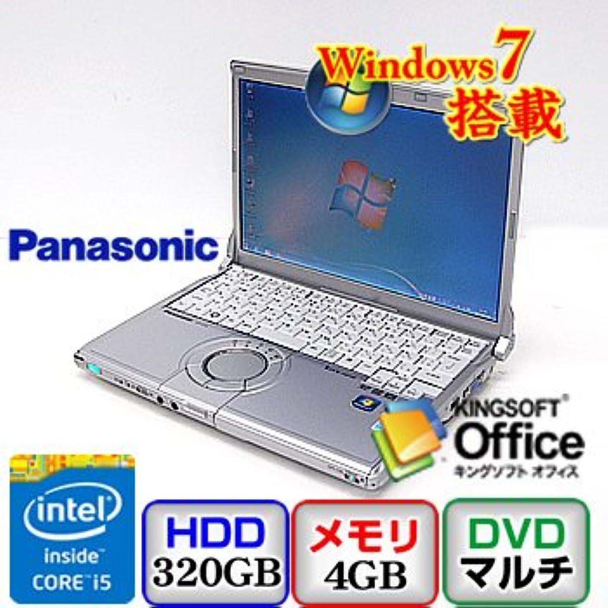 密接にペン汚す【中古ノートパソコン】Panasonic Let's note CF-S10 [CF-S10CWHDS] -Windows7 Professional 32bit Core i5 2.5GHz 4GB 320GB DVDスーパーマルチ 12.1インチ(B0629N054)
