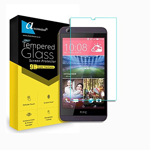 Ascension ® Curve Tempered for HTC Desire 626 Gorilla Glass Screen Protector High 9H Hard 2.5D Ultra Clear Transparent
