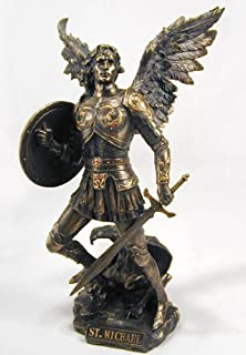Best bronze statues of st. michael the archangel Reviews