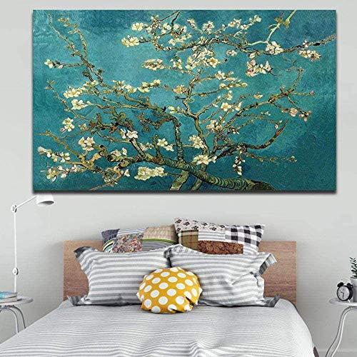 Desconocido 1000pcs Puzzle Rompecabezas niños Juguetes educativos Flor de Almendro Van Gogh Art Adultos Juegos Infantiles de Ejercicio Cerebral