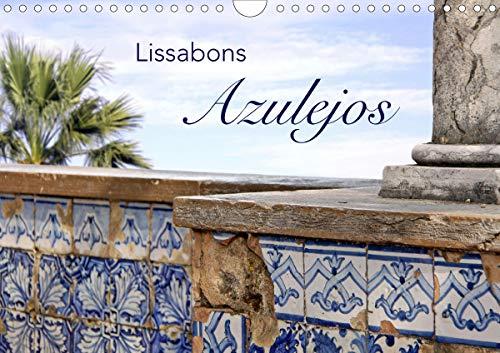 Lissabons Azulejos (Wandkalender 2021 DIN A4 quer)