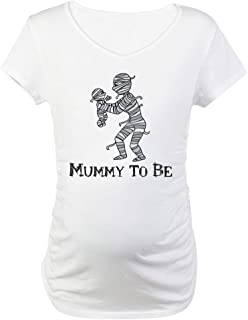 Halloween Mummy Maternity T-Shirt Maternity Tee