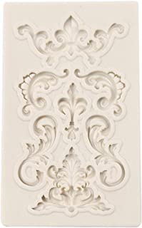 Practical Design Soft Silicone European Style Emboss Decorating Fondant Cake Silicone Mold DIY Candy Biscuits Molds