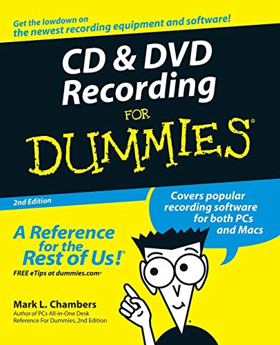 Compare Textbook Prices for CD and DVD Recording For Dummies 2 Edition ISBN 9780764559563 by Chambers, Mark L.