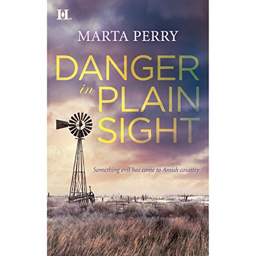 Danger in Plain Sight audiobook cover art
