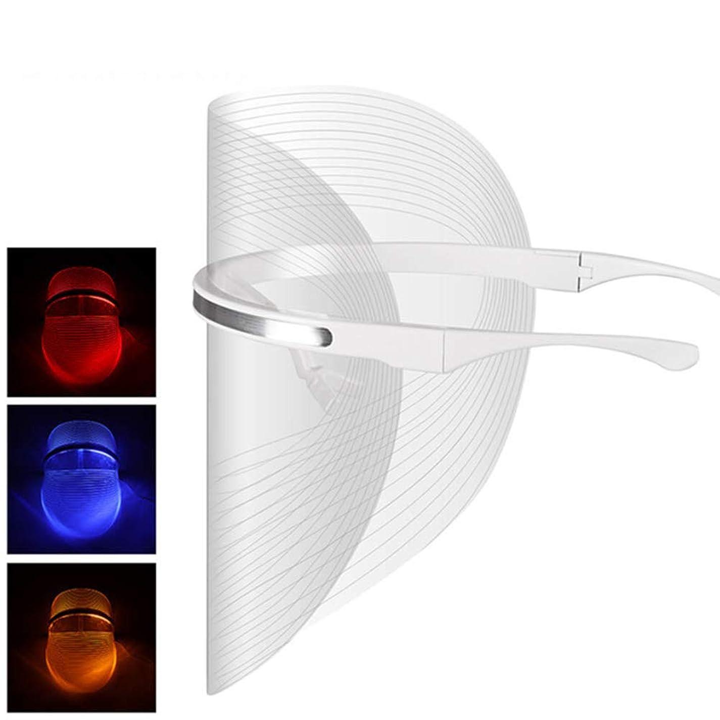 ミルク協会安全LEDの顔のマスクの美の器械のしわの取り外しの顔の皮のフェイスケアは顔のマスクの器械を白くします