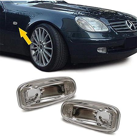 Carparts Online 13862p Weiße Seitenblinker Auto