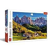 Trefl 1500 Piece Jigsaw Puzzle Val di Funes Valley, Dolomites, Italy, Multicolor