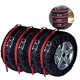 Premium Fundas para Neumáticos de Ruedas Recambio Cubierta Alta Calidad Caso Protector Bolsas de Almacenaje Neumáticos Grande Spare Tire Cover 80cm de Diámetro