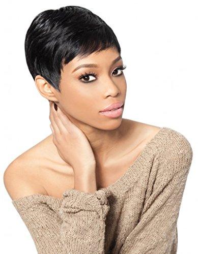 TARA 1-2-3 27PCS (2 Dark Brown) - Outre Velvet Remy 100% Human Hair Weave