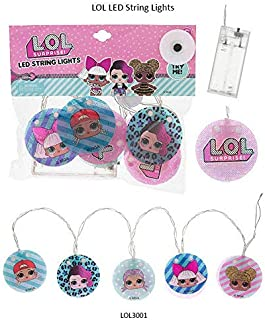 L.O.L Surprise Led String Lights for Room Decoration for Girls with Different L.O.L Character  Christmas Gift 2019