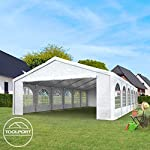 TOOLPORT 3x5 m Excellent Marquee with strong 240g/m² PE tarpaulin, Party Tent with fully galvanised & bolted steelframe… 5