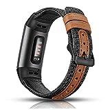 Aottom Correa compatible con Fitbit Charge 4 para mujeres y hombres, correa Fitbit Charge 3 correa, correa de repuesto para Fitbit...