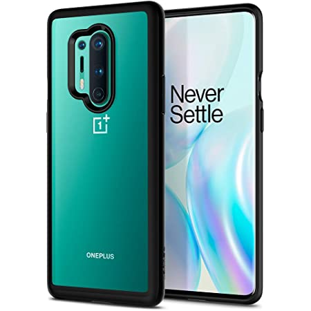 Spigen Back Cover For OnePlus 8 Pro ( Poly Carbonate; TPU Black )