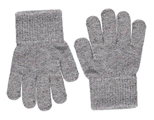 Celavi Kinder Handschuhe aus hochwertiger Wolle (Grau, 7/12 Jahre)