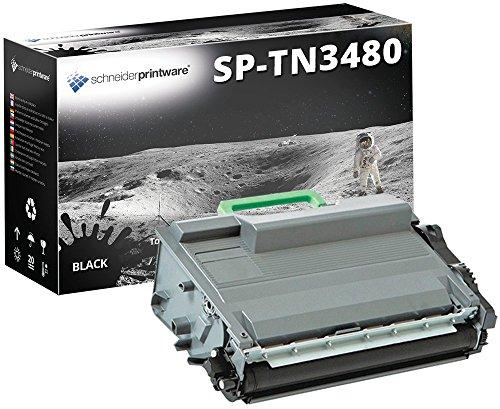 Schneider Printware Toner 50% höhere Reichweite kompatibel zu Brother TN-3480 TN3480 für Brother HL-L5000d HL-L5100dn HL-L5100dntt DCP-L5500dn MFC-L6800dw MFC-L5750dw HL-L5100dnt