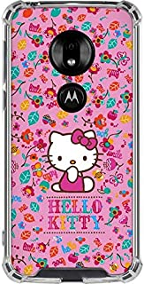 Skinit Clear Phone Case for Moto G7 Play - Officially Licensed Sanrio Hello Kitty Smile Design