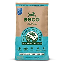 40% Fresh MSC Cod & Haddock, Potato, Chickpeas, Kale and more. Grain free, gluten free, packed with prebiotic's and easy on the digestive system. Our fish is traceable, fresh, sustainably sourced and cooked at 90°C... no fish meal! GOOD FOR DOGS EYES...