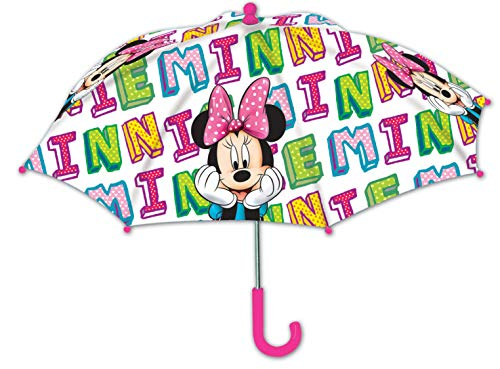 1 Stück Disney Regenschirm Minnie Mouse Kinder Schirm Minnie Maus