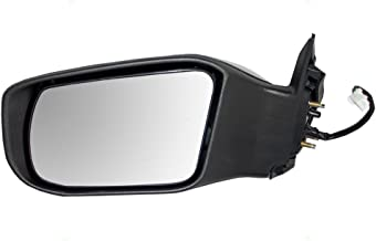 Fit System 68606N Nissan Altima Sedan Driver Side Textured Black Power Replacement Mirror with PTM Cover