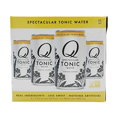 Q Drinks Tonic Water, 7.5 Fl Oz (pack of 4)
