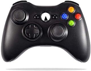 KOIUJ Controlador de Juego de Mesa for Wireless Joystick for el regulador del Juego de Bluetooth inalámbrico 360 Color: Negro