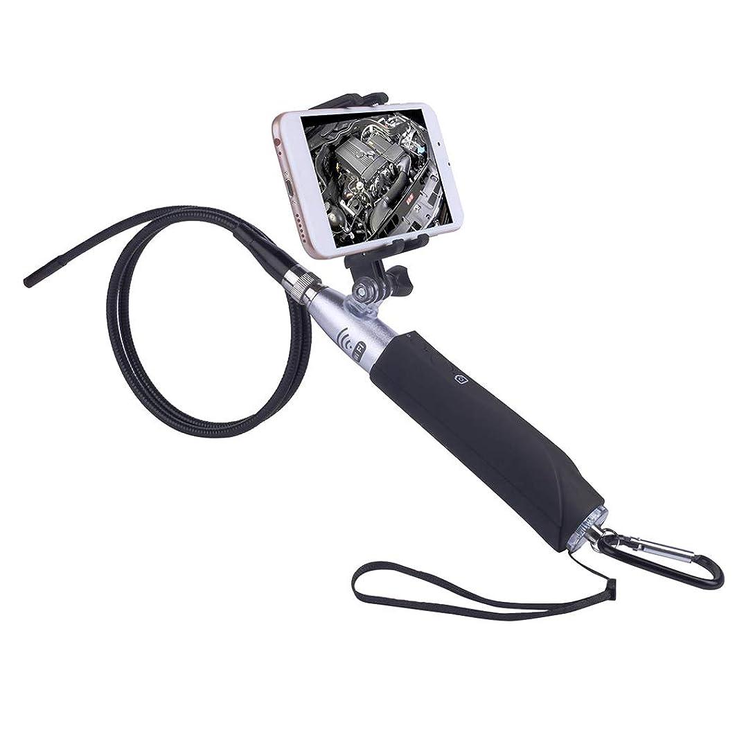 仕方おもちゃ検出可能Benkeg ワイヤレスホルダーと電話ホルダー8ミリメートルレンズhd wifiボアスコープ検査カメラ内蔵8 ledライトip67防水用