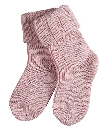 FALKE Baby Socken Flausch - Baumwollmischung, 1 Paar, Rosa (Powder Rose 8900), Größe: 62-68