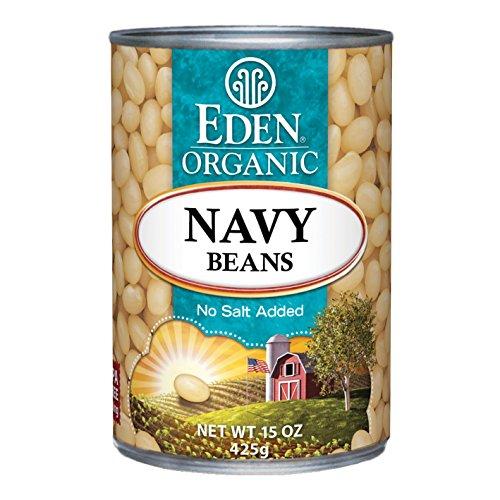 Organic no-salt white beans