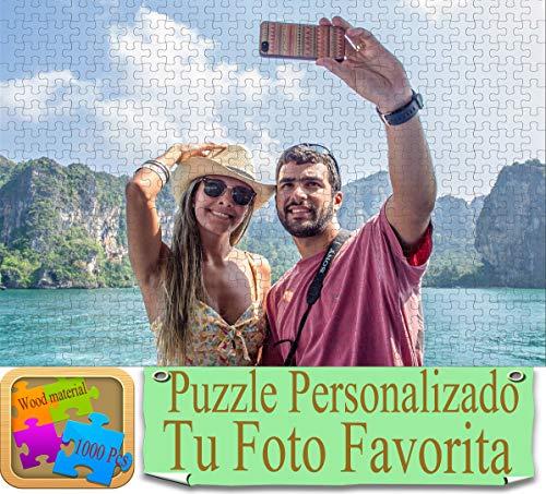 MYKJpuzzle Puzzle Personalizzato con la Tua Foto Preferita. Personalizzata Immagine Puzzles Legno Giocattolo Foto Scatola Regali - 1000 Pezzi (50 x 75 cm)