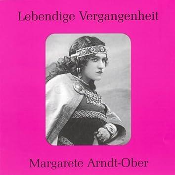 Lebendige Vergangenheit - Margarete Arndt - Ober