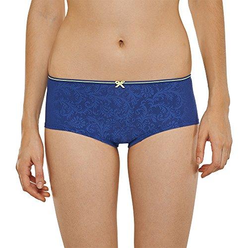 Uncover by Schiesser Damen Bikini Hipster Slip, Blau (dunkelblau 803), 36 (Herstellergröße: S)