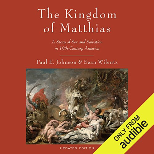 The Kingdom of Matthias audiobook cover art