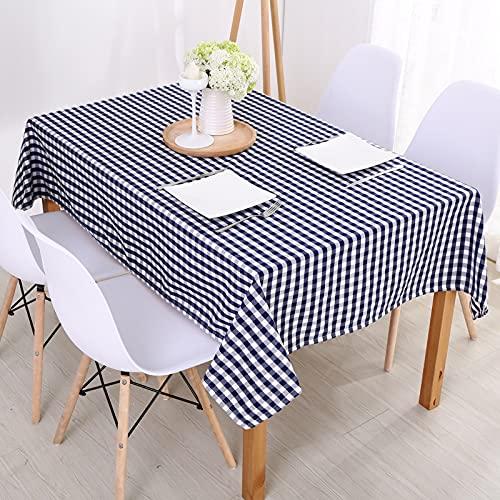 DSman Tischdecke, alltägliche Küchentischdecke für den Innenbereich dekorative Makramee Moderne einfache und frische Baumwolle und Leinen
