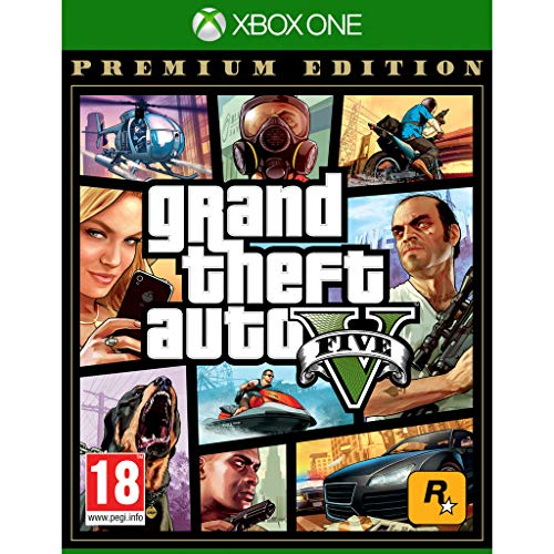 Grand Theft Auto 5 (GTA V) - Premium Edition - Xbox One (Xbox One)