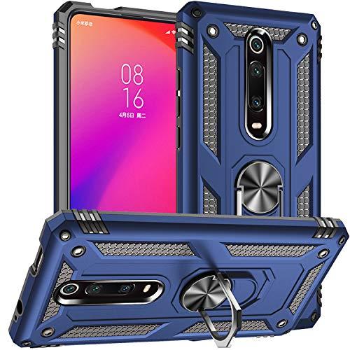 Custodia Xiaomi Mi 9T,Custodia Xiaomi Redmi K20,Silicone Cover Armatura Antiurto Copertura Cassa Custodia per Xiaomi Redmi K20 / K20 PRO/Xiaomi Mi 9T / Xiaomi Mi 9T PRO (Blu Scuro)