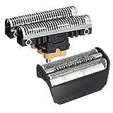 Need4Spares Compatible con Cuchilla de afeitar compatible con Braun 7504 compatible con la cabeza de afeitadora de repuesto y lámina