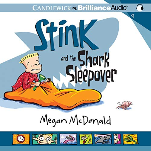 Stink and the Shark Sleepover  By  cover art