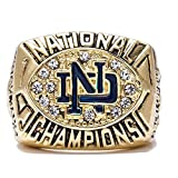 GF-sports store 1988 Notre Dame Championship Ring Collectible Jewelry (wihout Box)