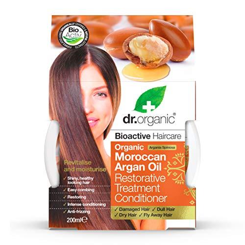 Dr.Organic Moroccan Argan Oil Maschera Capelli Ristrutturante 200 ml
