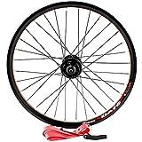 GJZhuan 20 Pulgadas Bicicletas Ruedas Conjunto 406 100/135mm V/Freno de Disco Rueda de Bicicleta Ruedas de Aleación de Aluminio Set 32 Hoyos de Liberación Rápida Velocidad 8/9