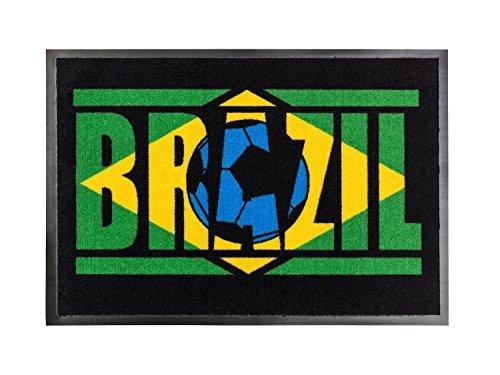 orientbazar24 Brazil Zerbino 75 x 50 cm del 36 Brasile Calcio Meisetria World EM