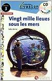 Vingt mille lieues sous les mers(Collection Découverte Niveau, No. 3) (Evasion Lectures FranÇais) - 9788496597617