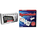 Pressman Mastermind Game : The Strategy Game of Codemaker vs. Codebreaker (Packaging May Vary) & Rummikub Classic Edition - The Original Rummy Tile Game, Blue