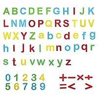 ibasenice を教育するための1セット磁気文字数字eva教育アルファベット冷蔵庫用マグネット冷蔵庫マグネット学習おもちゃキッズ幼児ランダム色