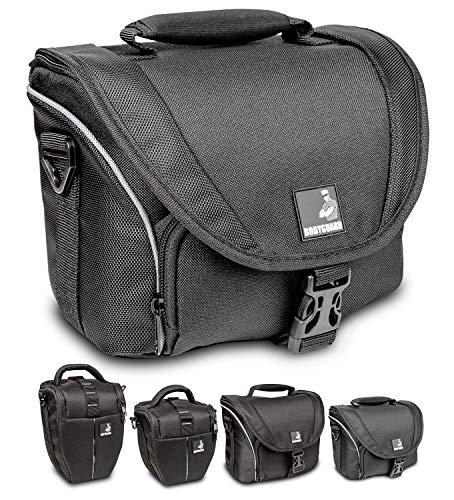 Fototas bodyguard SLR M voor body en 2 lenzen voor Nikon D800 D3200 D3300 D5100 D5200 D5300 D5500 D7000 D7100 D7200 Canon EOS 1200D 1300D 700D 750D 760D