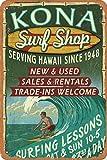BIT TINBG Kona Sune Shop Servieren Hawaii seit 1948 Vintage