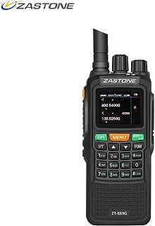 Zastone 889G Walkie Talkies Dual Band Two Way Radio Long Range 10W 999CH 3000mAh UHF/VHF GPS Ham Radio