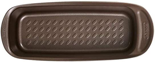 Pyrex AS30BL0/6146 Asimetria Non-Stick Loaf Pan, Brown, 30cm