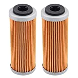 Tvent HF652 652 Oil Filter Replacement for 77338005100 350 400 450 500 530 EXC-F SX-F XC-F XCF-W 77338005101 (Pack of 2)